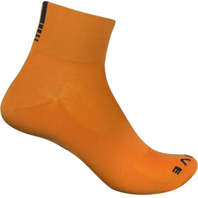 GripGrab Lightweight SL Short Socks orange hi-vis